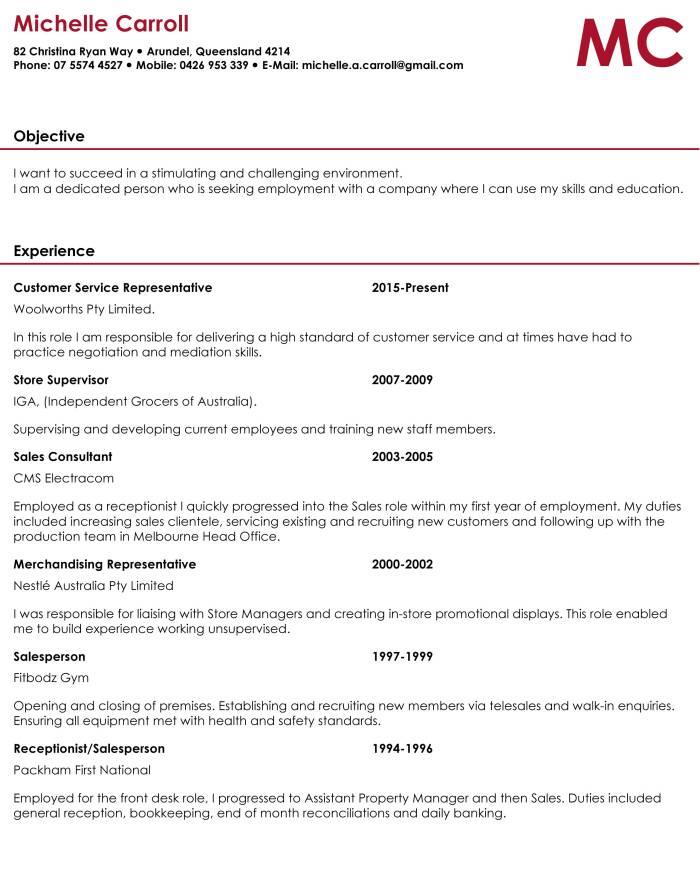 Resume_MichelleCarroll_pg1
